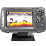 Lowrance Hook² 4x mit Bullet-Schwinger und GPS-Plotter CE